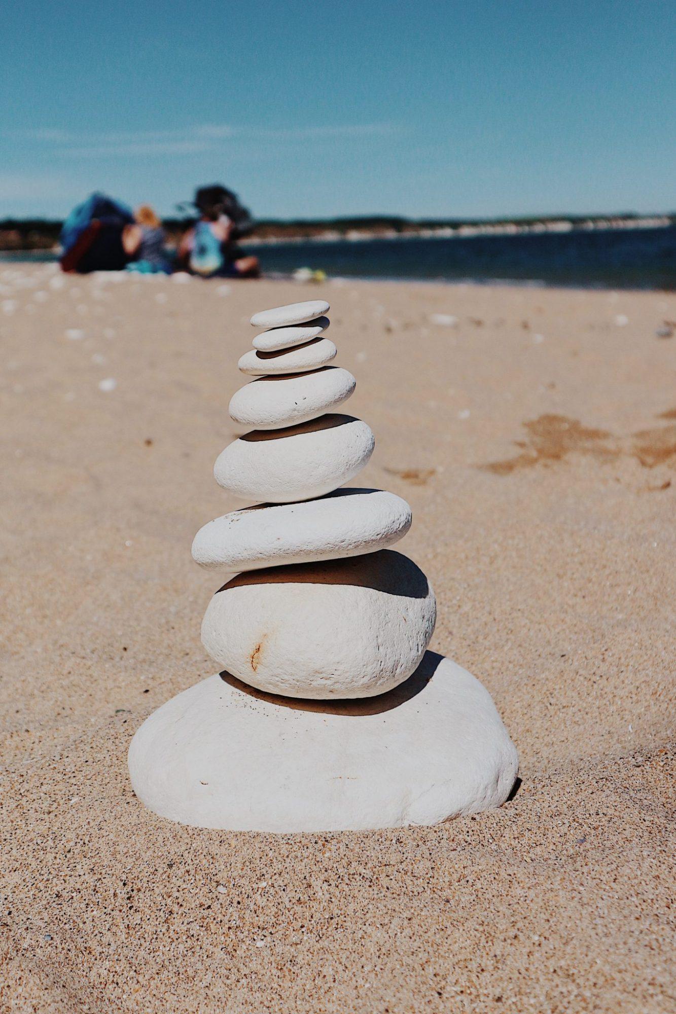 Rock Pile On Bridlington Beach | Beach + Seaside