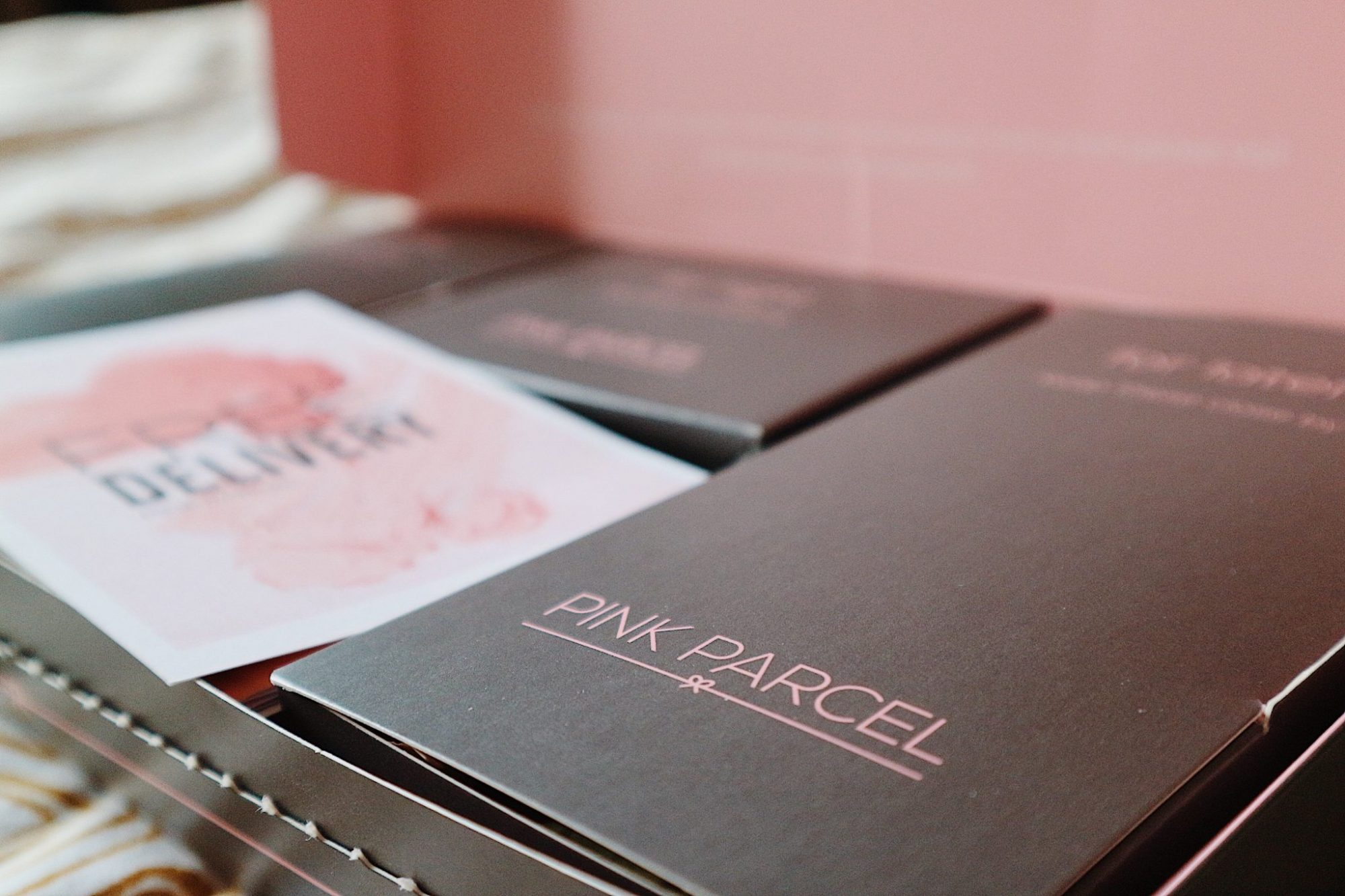 Pink Parcel Period Subscription Box