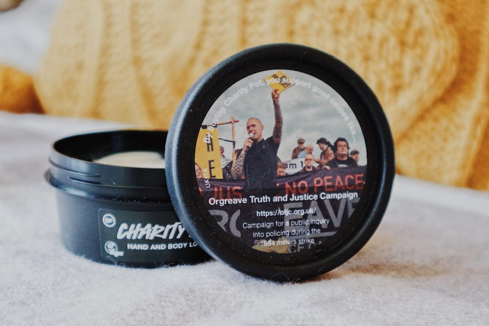 Lush Charity Pot Body Cream