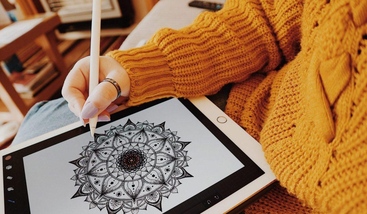 iPad Pro   Apple Pencil   Mandalas   Self Care