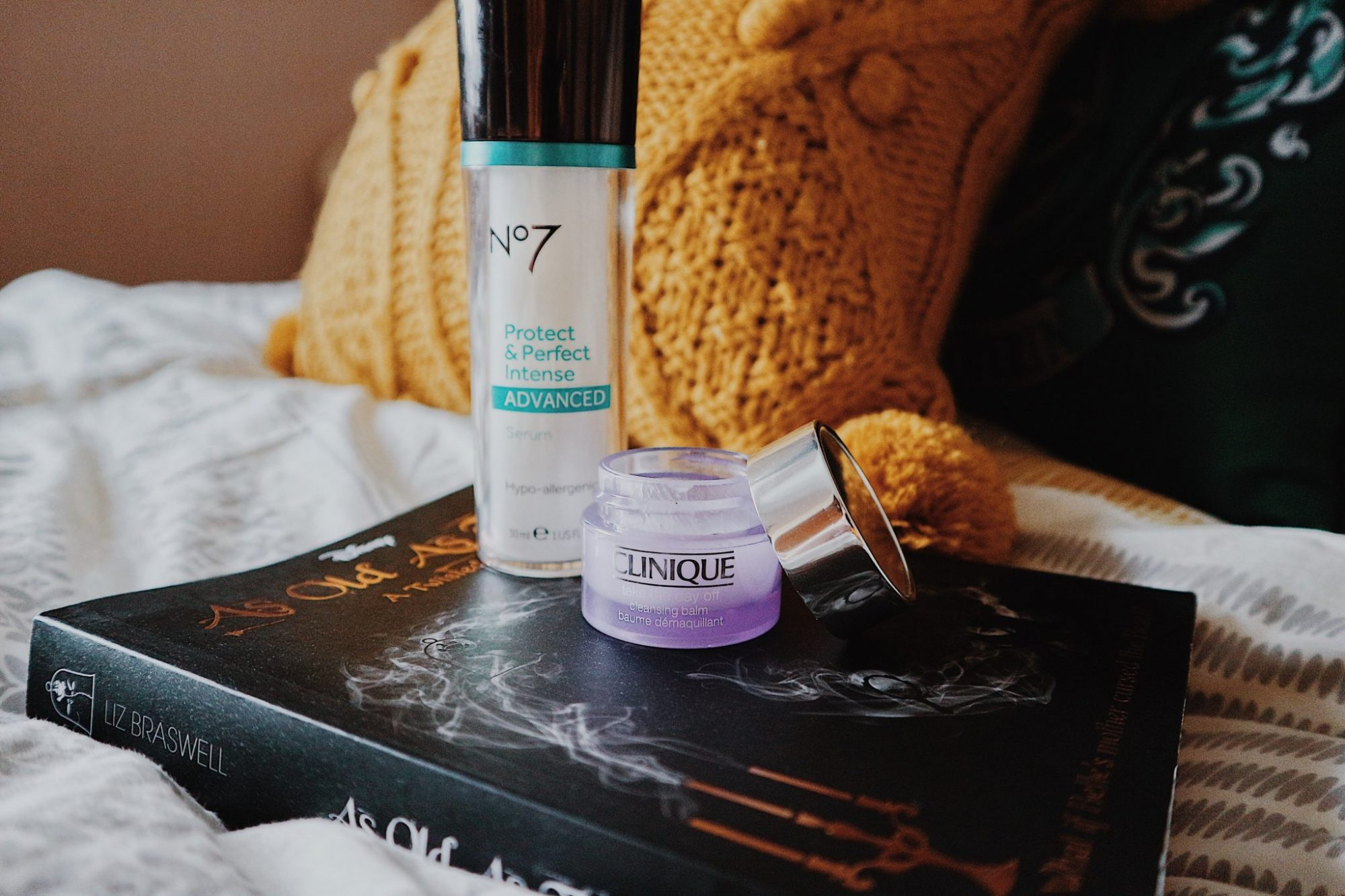 No7 Protect & Perfect Advanced Serum | Clinique Take The Day Of Balm | Skincare