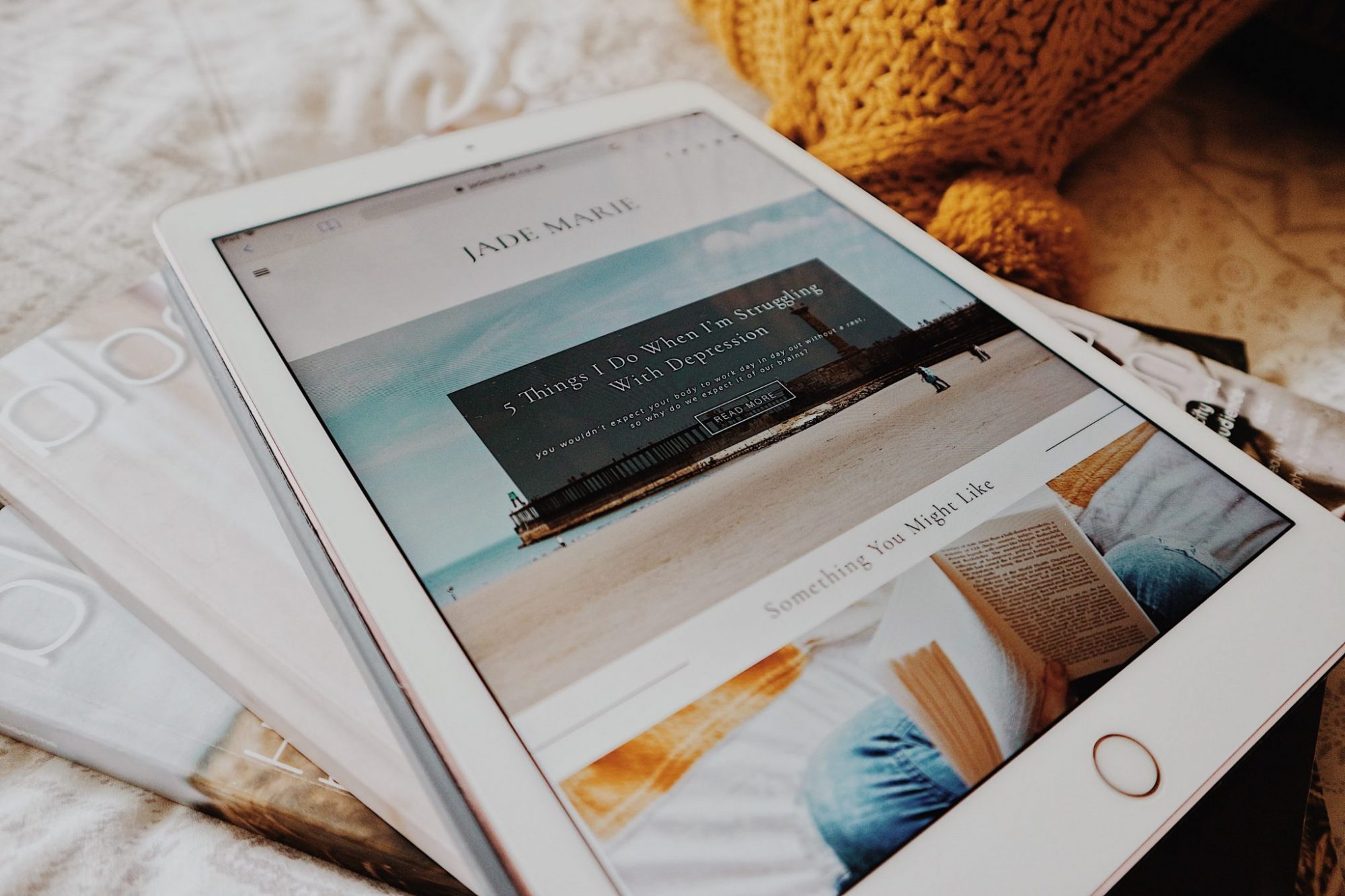 iPad Pro + Blog