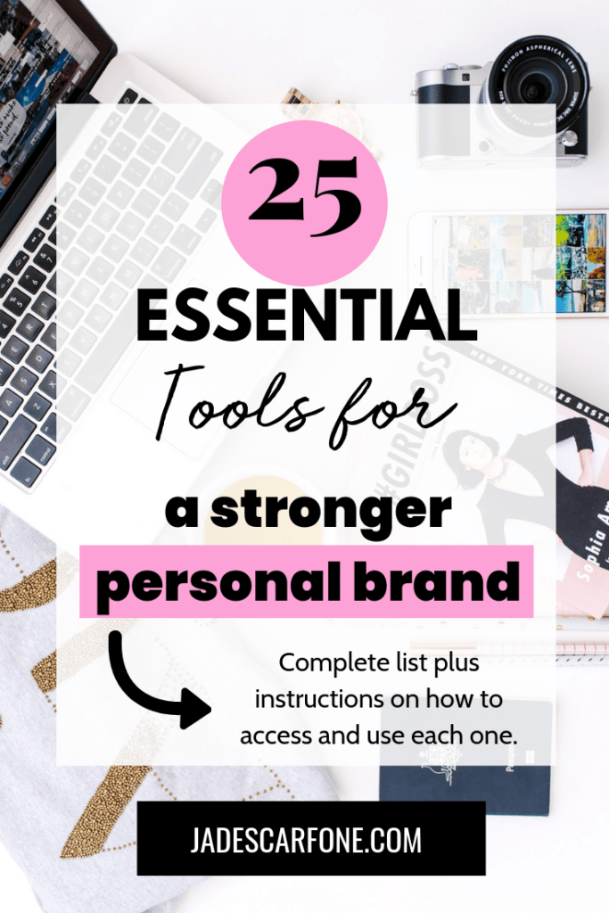 Many entrepreneurs know it's important to build a personal brand, but they don't necessarily know the best way to do it. So here's a list of 25 essential tools for building a personal brand. The more of these you implement into your personal branding strategy, the stronger your personal brand will become.