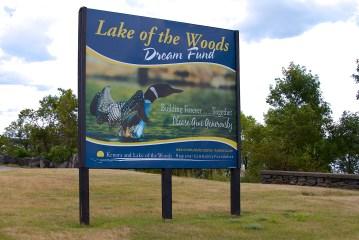 Lake of the Woods Billboard