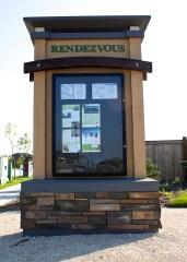Custom Community Notice Centre