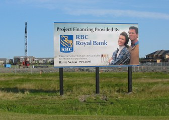 Billboard Project Sign