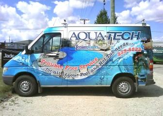 Aqua-Tech Vehicle Graphics