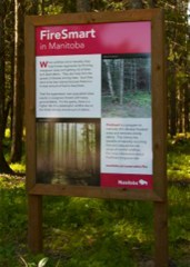 Manitoba Conservation Sign