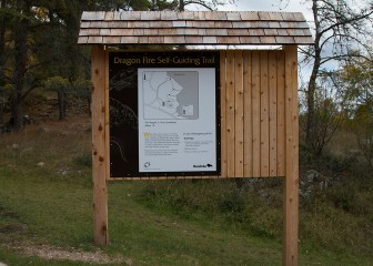 Manitoba Trail Sign
