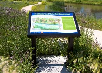 Lexan Trail Sign