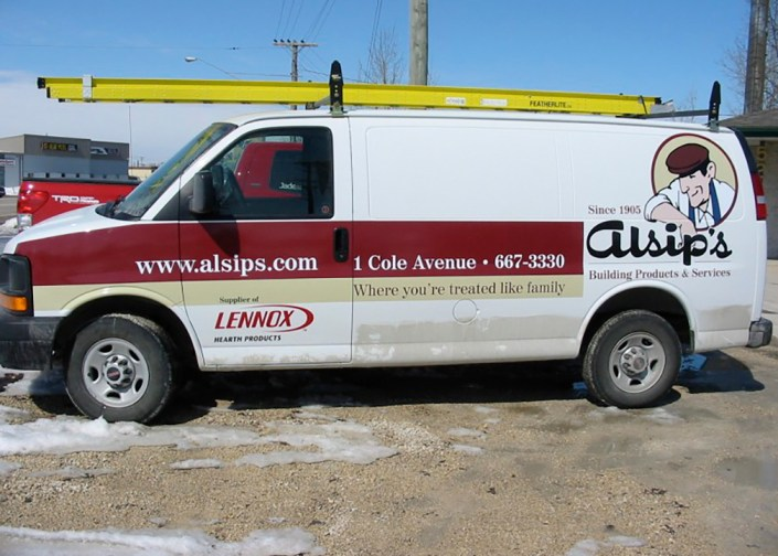 vehicle wrap example photo