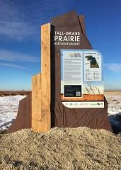 Interpretive Trail Signs - Prairie