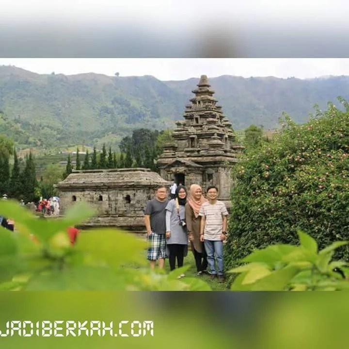Foto Panorama Keindahan Dieng