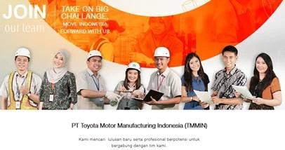 Lowongan Kerja Terbaru PT Toyota Motor Manufacturing Indonesia (TMMIN) SMA SMK D3 S1