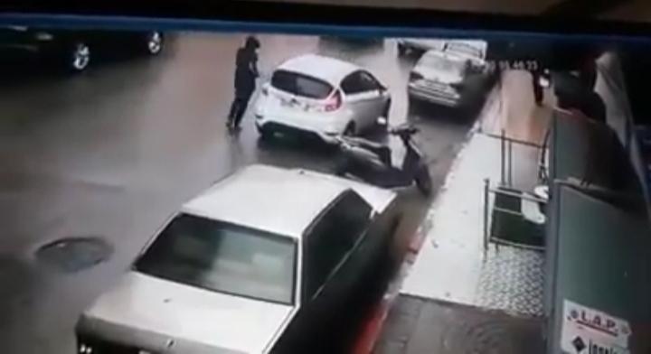 فيديو | انتحل صفة حارس للسيارات وسرق سيارة بطنجة