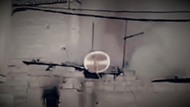 """فيديو…حريق بمنزل بحي """"البريك"""" بخريبكة"""