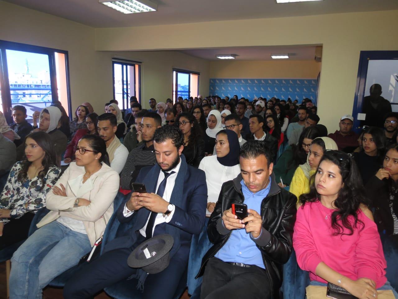 حزب الحمامة يؤطر 180 من الشباب بمراكش