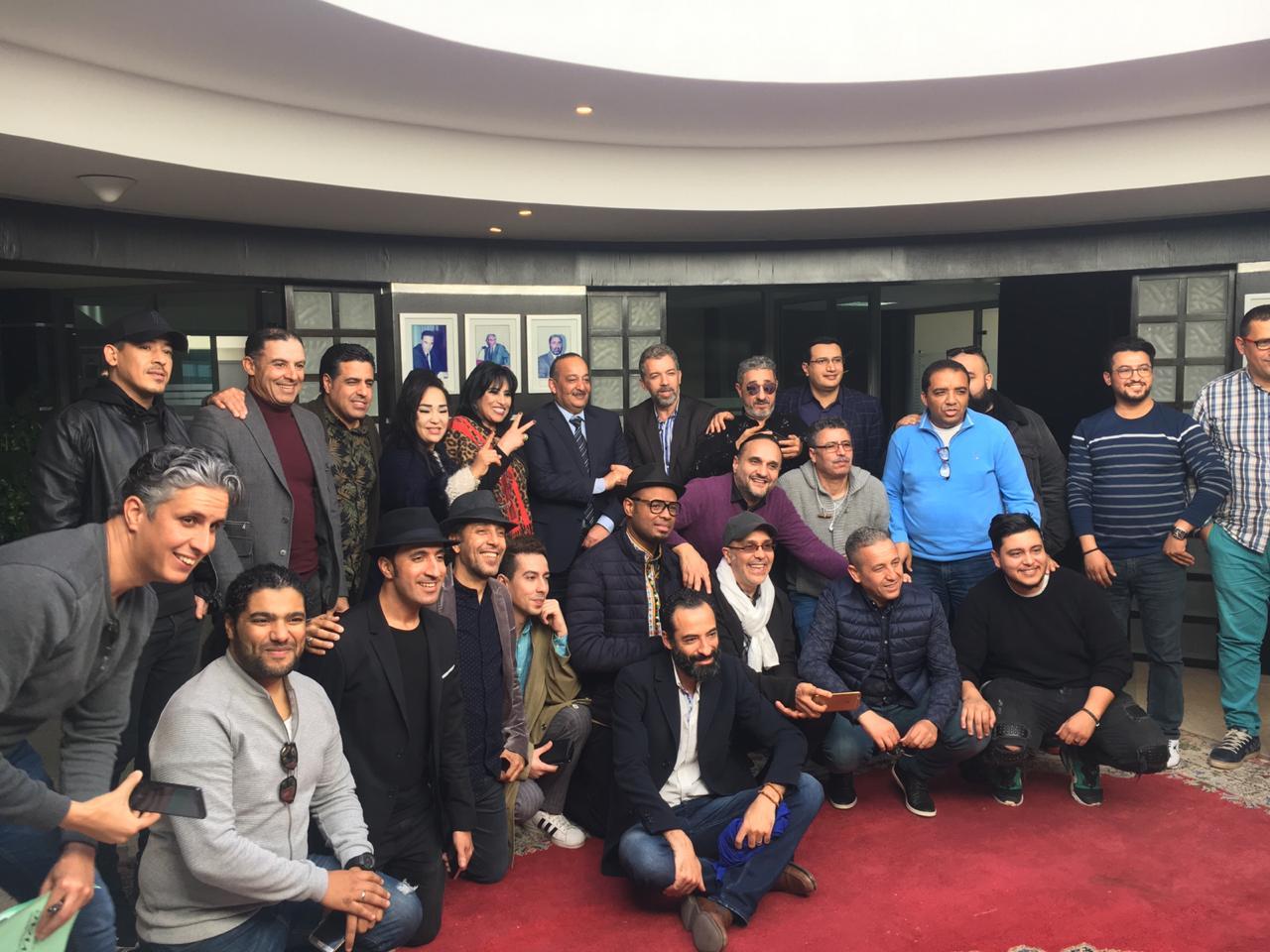 وزير الثقافة يلتقي النقابة المغربية للفنانين المبدعين (SMAC)