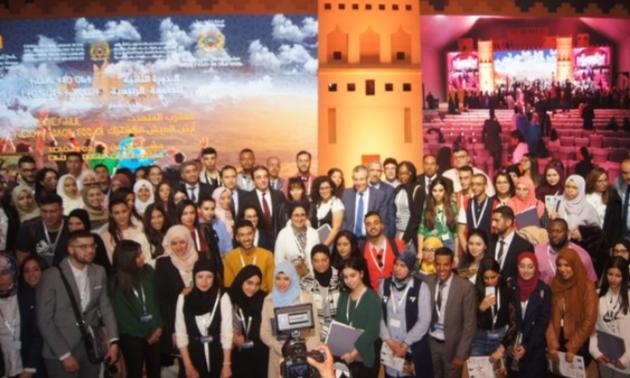 """أزيلال..""""العيش المشترك"""" يجمع الشباب المغاربة المقيمين بالخارج في الدورة الثانية للجامعة الربيعية"""
