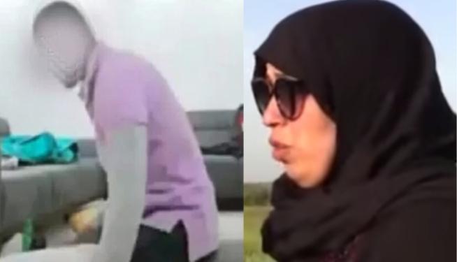 الزوجة التي اعتدى عليها زوجها السعودي كانت حاملا وأجهضت بسبب ذلك.. وأمها تناشد الملك للتدخل