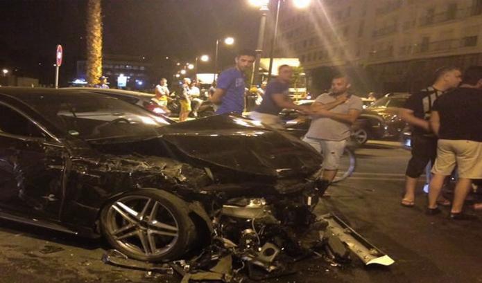 ضحايا واحتراق دراجة في حادثة سير مفجعة بطنجة