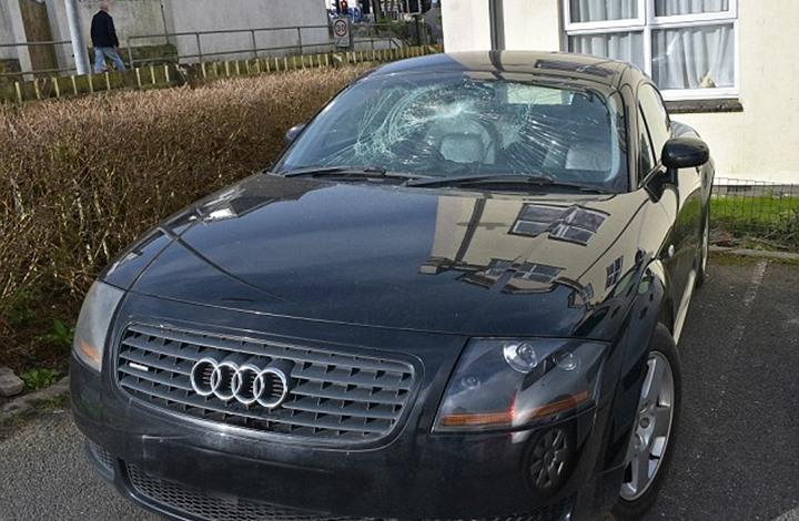 """تفاصيل سرقة سيارة """"كاردكور"""" الملك بطريقة هوليودية في مراكش"""