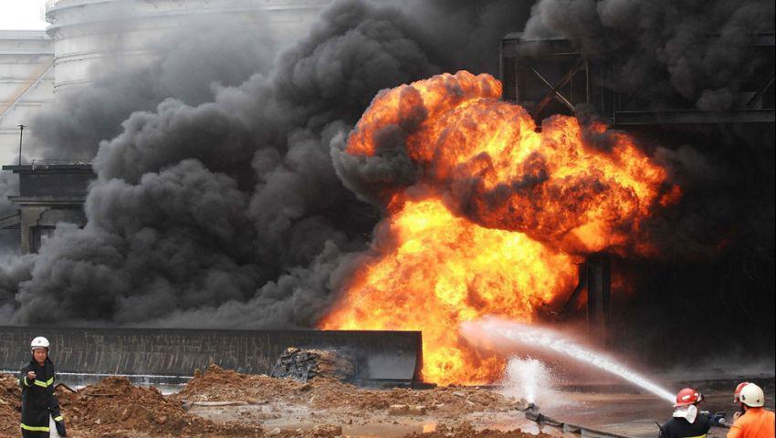 هجوم ضد منشآت نفطية سعودية يتبناه متمردو اليمن وسط توترات إقليمية