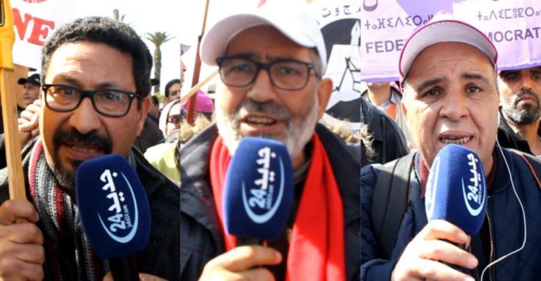 تصعيد جديد للنقابات التعليمية.. إضراب وطني واعتصامات مفتوحة وحمل للشارة السوداء طيلة شهر رمضان