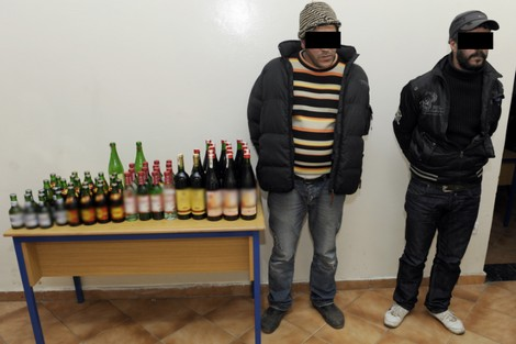 الرباط: توقيف مواطنة أجنبية للاشتباه في تورطها في ترويج المشروبات الكحولية بدون رخصة و ارتباطها بشبكات تنظيم الهجرة السرية