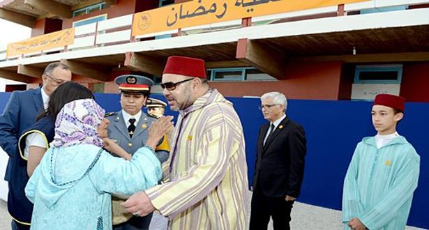 بمناسبة رمضان..الملك يعطي انطلاقة العملية الوطنية للدعم الغذائي