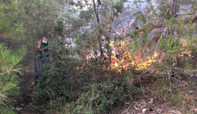 """نشوب حريق كبير بـ""""غابة المزامزة"""" ضواحي سطات"""