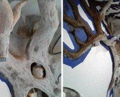 Cet artiste fabrique un magnifique arbre d'intérieur pour un chat et ce dernier l'adore
