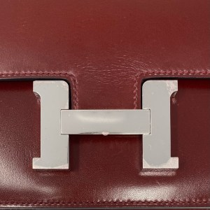 Hermes Rouge H  Box PHW Constance 18