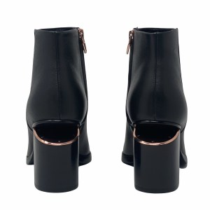 Alexander Wang Black Gabi Ankle Boots 80mm 35