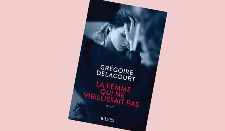 couverture du roman La femme qui ne vieillissait pas, femme, mains, bras