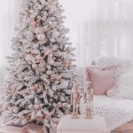 Couture Rose Gold Blush Christmas Tree Decoration Details J Adore Lexie Couture