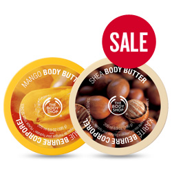 Body Shop Butter Deal
