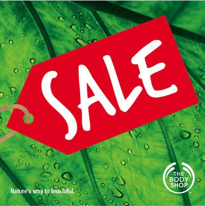 Body Shop Sale