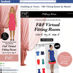 F&F Tesco Clothing Online Fitting Room