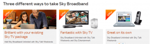 Sky Broadband Options