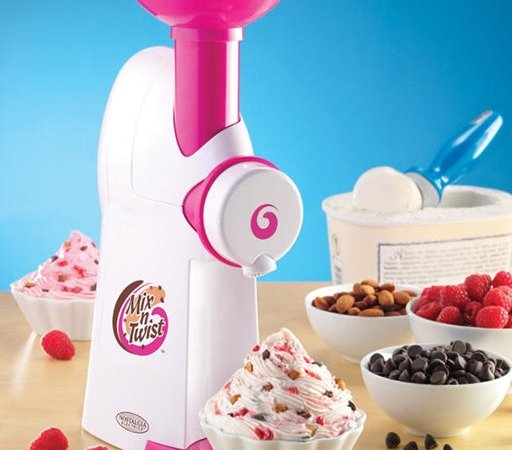 Ice Cream and Toppings Mixer