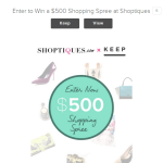 The best competition for a Shopaholic