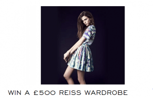 Win £500 Reiss Wardrobe