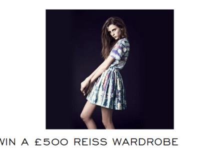 Win £500 Reiss Wardrobe