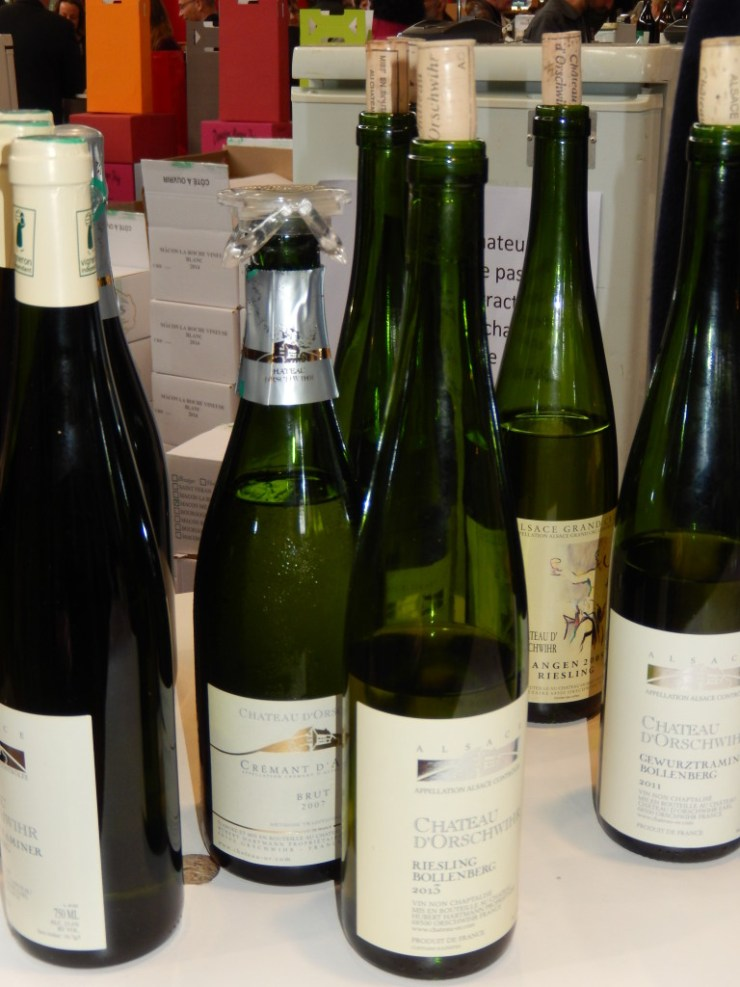 White Wines from the Château d'Orschwihr