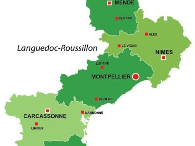 Languedoc Roussillon region