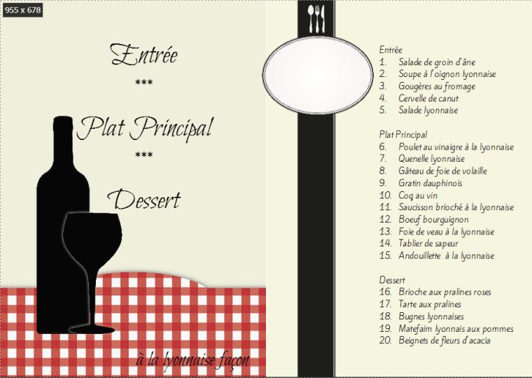 Mini Lyonnais Cookbook