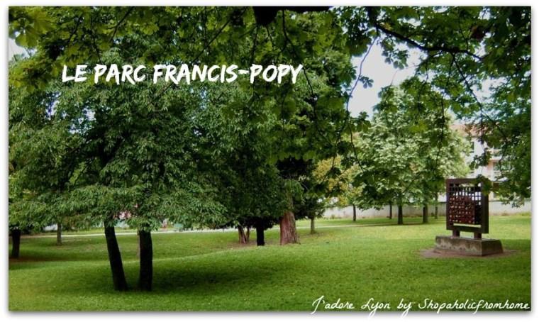 Le Parc Francis-Pop. Photo by Lyon-France