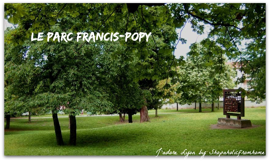 Le Parc Francis-Pop. Photo by Lyon-France