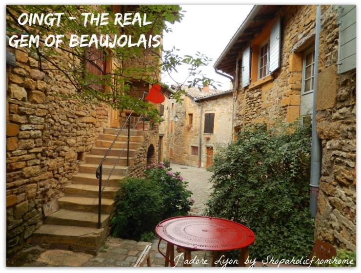 Oingt - the real gem of Beaujolais